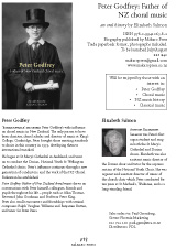 Peter Godfrey: Father of NZ choral music