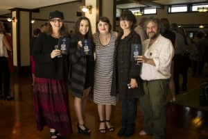 Hat with Sir Peter Jackson and family
