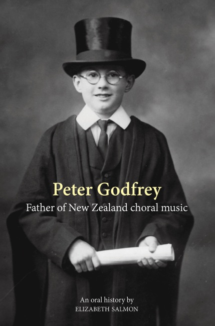 Peter Godfrey Father of NZ choral music cover