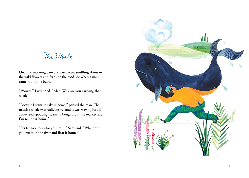 'The Sam & Lucy Fables' - The Whale - Low res preview