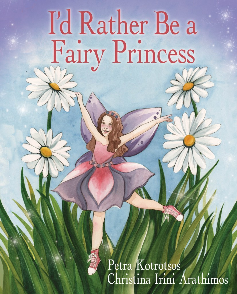 I'd rather be a fairy princess cover