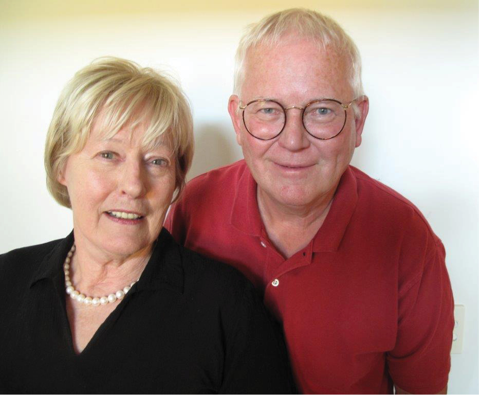 Author photo of Sally Astridge and Arne Norlin